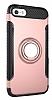 Eiroo Mage Fit iPhone SE / 5 / 5S Standlı Ultra Koruma Rose Gold Kılıf - Resim 9