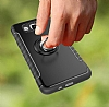 Eiroo Mage Fit Samsung Galaxy J5 2016 Standlı Ultra Koruma Siyah Kılıf - Resim 5