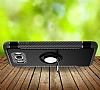 Eiroo Mage Fit Samsung Galaxy J5 2016 Standlı Ultra Koruma Siyah Kılıf - Resim 3