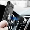 Eiroo Mage Fit Samsung Galaxy J5 Prime Standlı Ultra Koruma Silver Kılıf - Resim 3