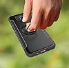 Eiroo Mage Fit Samsung Galaxy J7 Prime Standlı Ultra Koruma Lacivert Kılıf - Resim 2