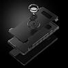 Eiroo Mage Fit Samsung Galaxy Note 8 Standlı Ultra Koruma Lacivert Kılıf - Resim 3