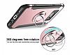 Eiroo Mage Fit Samsung Galaxy S7 Edge Standlı Ultra Koruma Kırmızı Kılıf - Resim 4