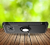 Eiroo Mage Fit Samsung Galaxy S7 Standlı Ultra Koruma Lacivert Kılıf - Resim 3