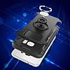 Eiroo Mage Fit Samsung Galaxy S7 Standlı Ultra Koruma Kırmızı Kılıf - Resim 1