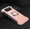 Eiroo Mage Fit Samsung Galaxy S8 Plus Standlı Ultra Koruma Siyah Kılıf - Resim 1