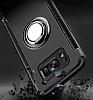 Eiroo Mage Fit Samsung Galaxy S8 Plus Standlı Ultra Koruma Dark Silver Kılıf - Resim 4