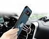 Eiroo Mage Fit Samsung Galaxy S8 Plus Standlı Ultra Koruma Siyah Kılıf - Resim 6