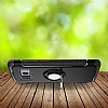 Eiroo Mage Fit Samsung Galaxy S8 Standlı Ultra Koruma Lacivert Kılıf - Resim 7