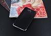 Eiroo Matte Fit Casper Via A1 Dark Silver Kenarlı Siyah Silikon Kılıf - Resim 1