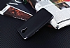 Eiroo Matte Fit General Mobile Android One Dark Silver Kenarlı Siyah Silikon Kılıf - Resim 2