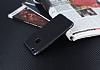 Eiroo Matte Fit Huawei P10 Lite Siyah Kenarlı Siyah Silikon Kılıf - Resim 2