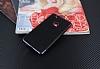 Eiroo Matte Fit Huawei P10 Lite Siyah Kenarlı Siyah Silikon Kılıf - Resim 1