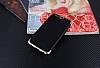 Eiroo Matte Fit Huawei P10 Plus Gold Kenarlı Siyah Silikon Kılıf - Resim 2