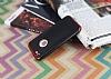 Eiroo Matte Fit iPhone SE / 5 / 5S Kırmızı Kenarlı Siyah Silikon Kılıf - Resim 2