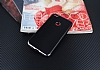 Eiroo Matte Fit Huawei P9 Lite 2017 Siyah Kenarlı Siyah Silikon Kılıf - Resim 1