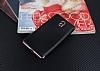 Eiroo Matte Fit Nokia 3 Rose Gold Kenarlı Siyah Silikon Kılıf - Resim 1