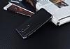 Eiroo Matte Fit Nokia 5 Dark Silver Kenarlı Siyah Silikon Kılıf - Resim 2