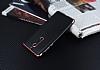 Eiroo Matte Fit Nokia 5 Rose Gold Kenarlı Siyah Silikon Kılıf - Resim 2