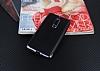 Eiroo Matte Fit Nokia 5 Dark Silver Kenarlı Siyah Silikon Kılıf - Resim 1