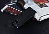 Eiroo Matte Fit Samsung Galaxy A7 2016 Dark Silver Kenarlı Siyah Silikon Kılıf - Resim 2