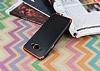 Eiroo Matte Fit Samsung Galaxy J3 Pro Kırmızı Kenarlı Siyah Silikon Kılıf - Resim 2