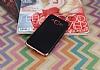 Eiroo Matte Fit Samsung Galaxy J3 Pro Rose Gold Kenarlı Siyah Silikon Kılıf - Resim 1