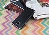 Eiroo Matte Fit Samsung Galaxy J3 Pro Dark Silver Kenarlı Siyah Silikon Kılıf - Resim 2