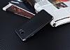 Eiroo Matte Fit Samsung Galaxy J7 Prime Dark Silver Kenarlı Siyah Silikon Kılıf - Resim 2