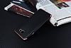 Eiroo Matte Fit Samsung Galaxy J7 Prime Rose Gold Kenarlı Siyah Silikon Kılıf - Resim 2