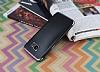 Eiroo Matte Fit Samsung Galaxy S7 Edge Dark Silver Kenarlı Siyah Silikon Kılıf - Resim 2