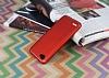 Eiroo Mellow LG Q6 Ultra Kırmızı Rubber Kılıf - Resim 2