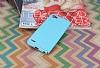 Eiroo Mellow LG Q6 Ultra Mavi Rubber Kılıf - Resim 2