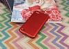 Eiroo Mellow LG Q6 Ultra Kırmızı Rubber Kılıf - Resim 1