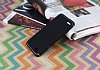 Eiroo Mellow LG Q6 Ultra Siyah Rubber Kılıf - Resim 2