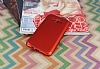 Eiroo Mellow Samsung Galaxy J7 Kırmızı Silikon Kılıf - Resim 2