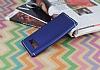 Eiroo Mellow Samsung Galaxy Note 8 Lacivert Silikon Kılıf - Resim 1
