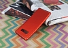 Eiroo Mellow Samsung Galaxy Note 8 Kırmızı Silikon Kılıf - Resim 1