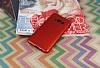 Eiroo Mellow Samsung Galaxy S8 Kırmızı Silikon Kılıf - Resim 2