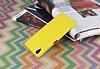 Eiroo Mellow Sony Xperia XA1 Plus Sarı Rubber Kılıf - Resim 1