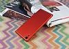 Eiroo Mellow Sony Xperia XA1 Ultra Kırmızı Rubber Kılıf - Resim 1