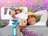 Eiroo Mini Pembe Selfie Çubuğu - Resim 7