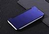 Eiroo Mirror Cover Huawei Mate 9 Aynalı Kapaklı Lacivert Kılıf - Resim 2