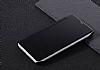 Eiroo Mirror Cover Huawei Mate 9 Aynalı Kapaklı Siyah Kılıf - Resim 2