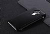 Eiroo Mirror Cover Huawei Mate 9 Aynalı Kapaklı Siyah Kılıf - Resim 1