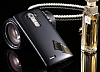 Eiroo Mirror Cover LG G4 Aynalı Kapaklı Uyku Modlu Siyah Kılıf - Resim 6