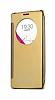 Eiroo Mirror Cover LG G4 Aynalı Kapaklı Uyku Modlu Gold Kılıf - Resim 7