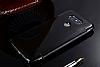 Eiroo Mirror Cover LG G5 Aynalı Kapaklı Siyah Kılıf - Resim 3