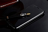Eiroo Mirror Cover LG G5 Aynalı Kapaklı Siyah Kılıf - Resim 2