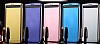Eiroo Mirror Cover LG V10 Aynalı Kapaklı Uyku Modlu Lacivert Kılıf - Resim 2